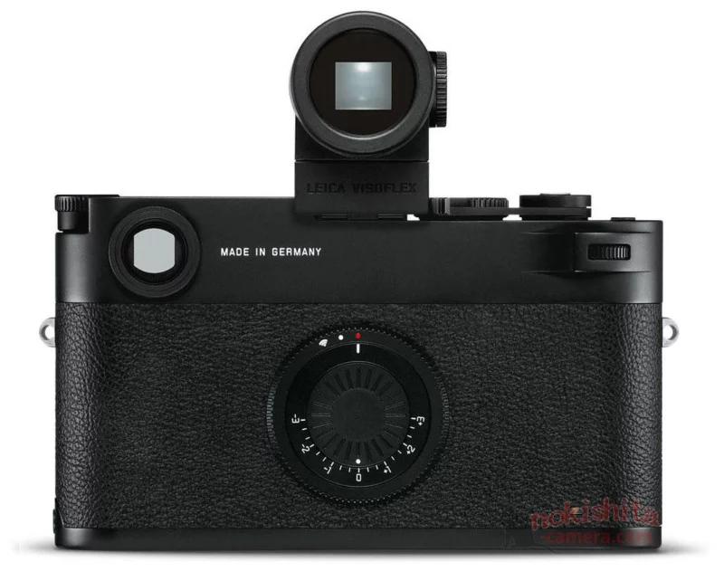 Цифровая камера с рычагом затвора и без экрана? Нонсенс! (Нет, это Leica M10-D)