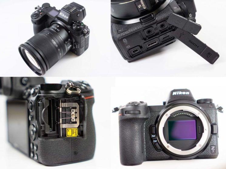 Nikon Z7 начинают разбирать