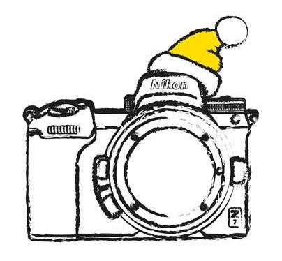 Nikon, благотворительность и Новый год