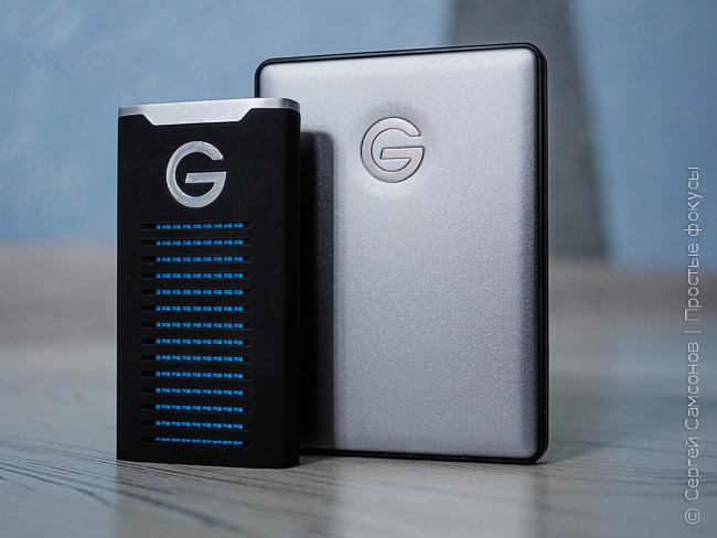 Внешний диск G-drive R-series