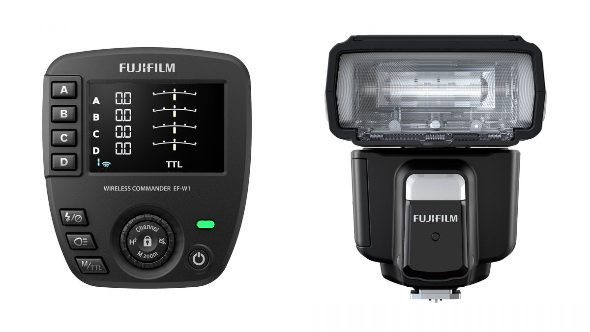 Fujifilm выпустила накамерную вспышку EF-60 и беспроводной триггер EF-W1