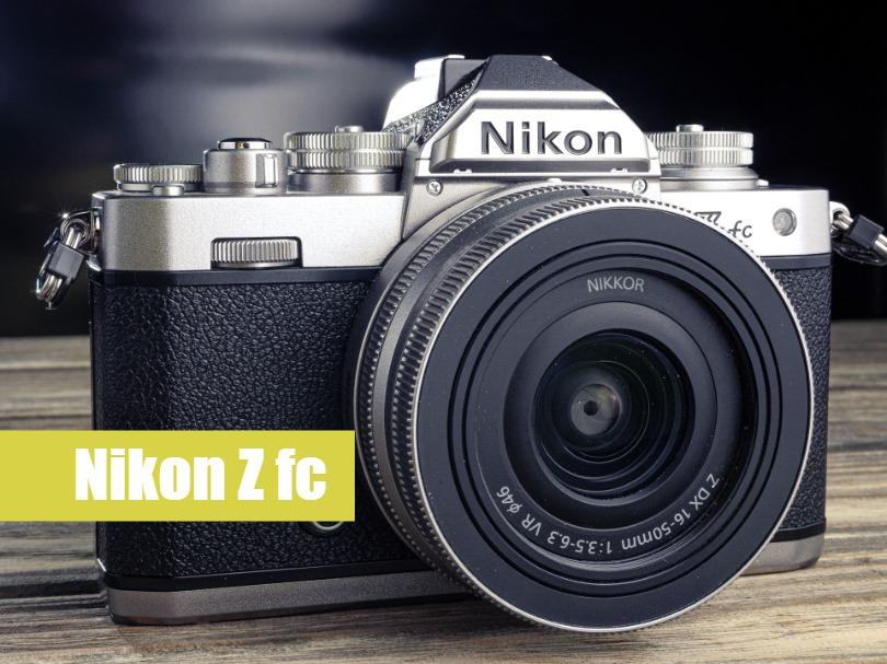 Тест Nikon Z fc
